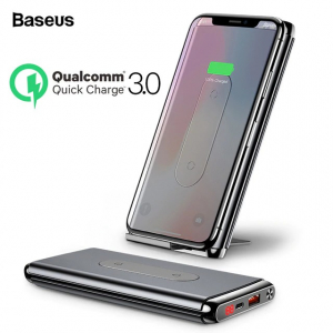 Baseus 10000mAh Quick Charge 3.0 Wireless Power Bank