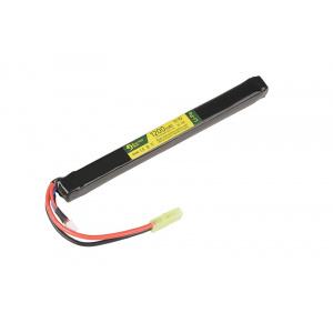 LiPo 11.1V 1200mAh 2S/20C Battery - Under AK Dust Cover
