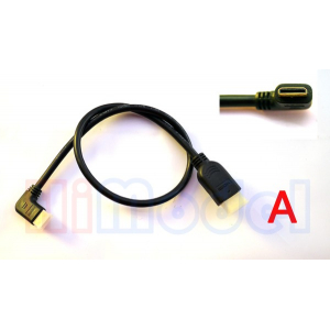 Mini HDMI to HDMI Conversion Cable V1.4 - 50CM - Type A
