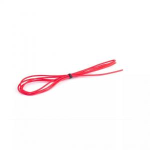 Silikoninis laidas raudonas 26AWG (1m)