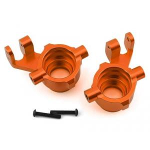 Traxxas Maxx Aluminum Steering Blocks (Orange)