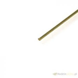 Brass rod O 2,0x1000 mm