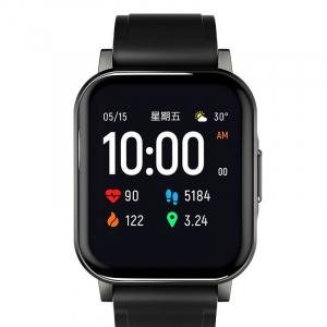 Išmanus laikrodis Smartwatch Haylou LS02 Bluetooth V5.0 (black)