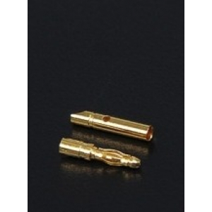 2mm Gold Connectors 1pora