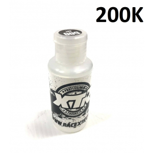 XTR 100% pure silicone oil 200k 80ml