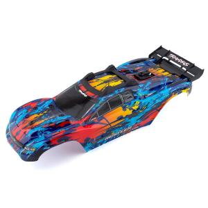 Traxxas Rustler 4X4 VXL nudažytas kėbulas