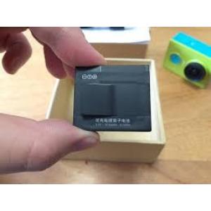 3.7V 1010mAH Li-ion atsarginė baterija sklirta Xiaomi Yi veiksmo kamerai