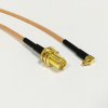 RF RP SMA Female Switch MMCX Male Right Angle Pigtail Cable ...