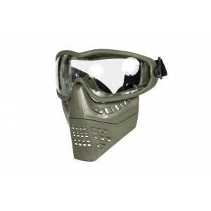 ANT mask with goggles - olive