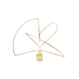 2.4GHz Circular Polarized Antena SMA Tik imtuvas (Trumpas)