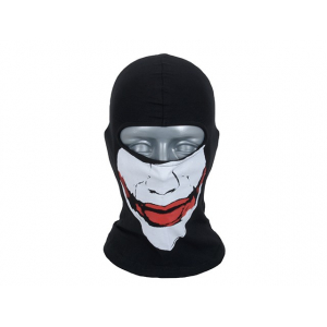 SMILE BALACLAVA TYPE JOKER - BLACK [8FIELDS]