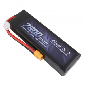 Gens ace 7600mAh 7.4V 50C 2S2P Lipo Battery with XT60 Plug