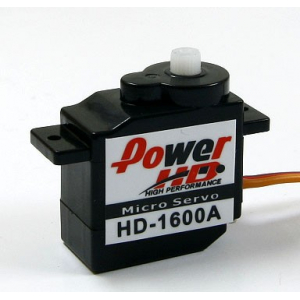 PowerHD 6g/1.2kg/ .10sec High Performance Micro Servo HD-1600A