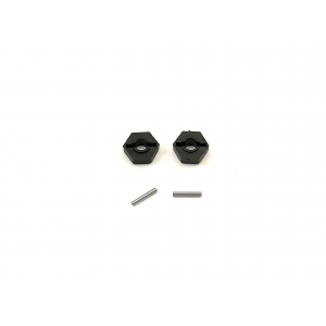 bz-444 hex with pin's 2pcs front