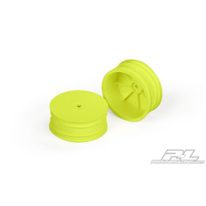 "Velocity 2.2"" Losi 22 D216 Yellow 2 10mm hex"