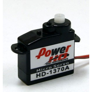 PowerHD 3.7g/0.4kg/ .10sec High Performance Micro Servo HD-1370A