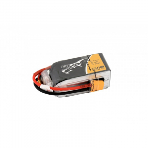 Tattu 1550mAh 4S1P 14.8V 75C Lipo Battery Pack with XT60 plug