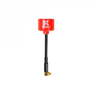 Foxeer Lollipop 5.8G RHCP Super Mini Antenna ANGLEMMCX Red (2vnt.)