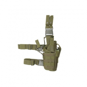 2-WAYS CARRYING TYPE TACTICAL DROP LEG HOLSTER - OLIVE [8FIELDS]