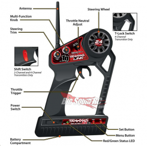 TRAXXAS TQ 2.4GHZ PROGRAMMABLE RADIO SYSTEM