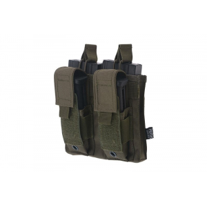 Double Open Top 2+2 Pouch - Olive Drab