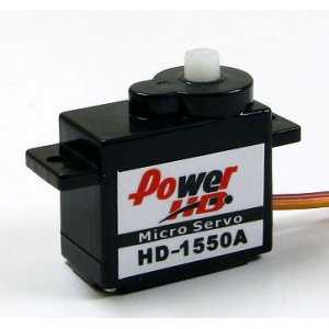 PowerHD 5.5g/0.9kg/ .10sec High Performance Micro Servo HD-1550A