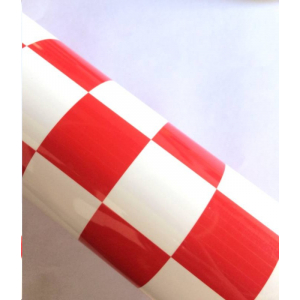 Grill-work grillwork in red&white(600mm*1meter)