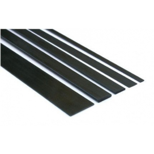 Carbon strip 1,0x6,0x1000 mm