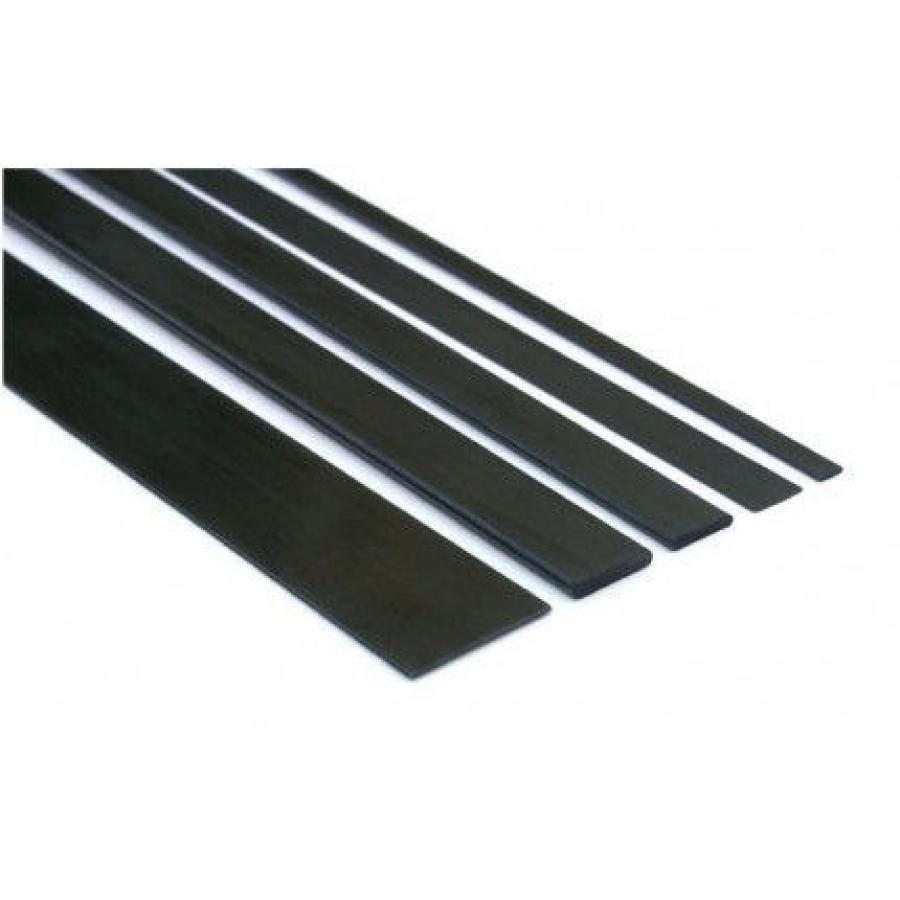 Plokštelė anglies pluošto 1.0x6.0x1000 mm