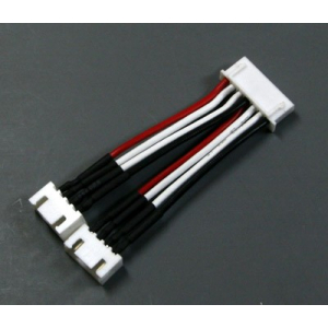 6S Balance Connector to 2x 3S Conversion Cable (HiModel/Align type connector)