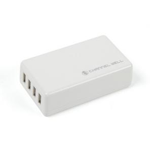 USB 4 Port 25W/5A pakrovėjas (EU kištukas)