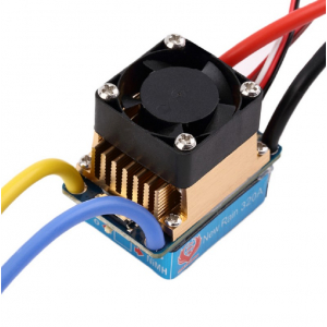 Brushed ESC 320A 3S with Fan 5V 3A BEC T-Plug For 1/10 RC Car