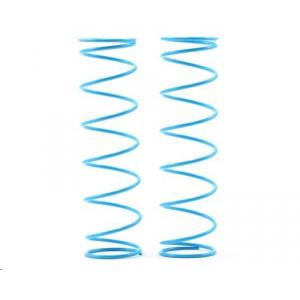 Kyosho 84mm Big Bore Medium Length Shock Spring (Light Blue) (2)