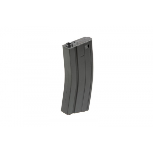 Magazine mid-cap 140 balls for replicas type M4 / M16 - gray