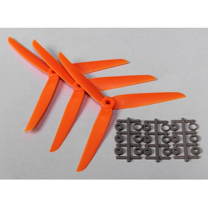 Three blade 7x3.5 propellers (Orange)