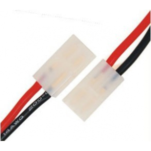 M010 FEMale Tamiya Connector With 14AWG Silicone Wire L=10CM