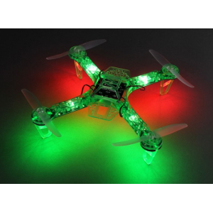 HobbyKing FPV250 V4 Green Ghost Edition LED Night Flyer FPV Quad Copter (Green) (Kit)