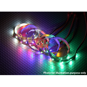 LED Strip with JST Connector 200mm (Yellow)
