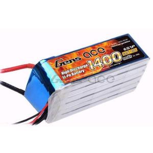 Gens Ace 1400mAh 22.2V 40C 6S1P Lipo Battery Pack