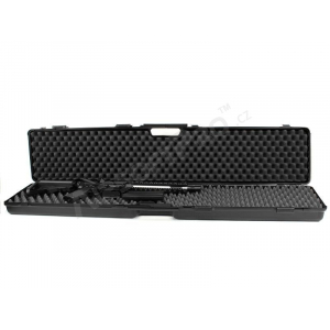 RIFLE HARD CASE (121,5 X 23,5 X 10CM) - BLACK (1637-SEC)
