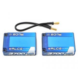 "LRP Competition 2S LiPo 55C Hard Case ""LCG"" Saddle Battery Pack (7.4V/3700mAh) Lipo akumuliatorius automodeliui"