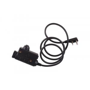 M51 PTT Button (Kenwood) - Black