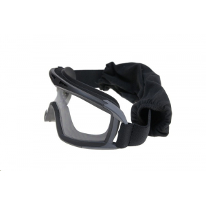 Low-profile goggles - black