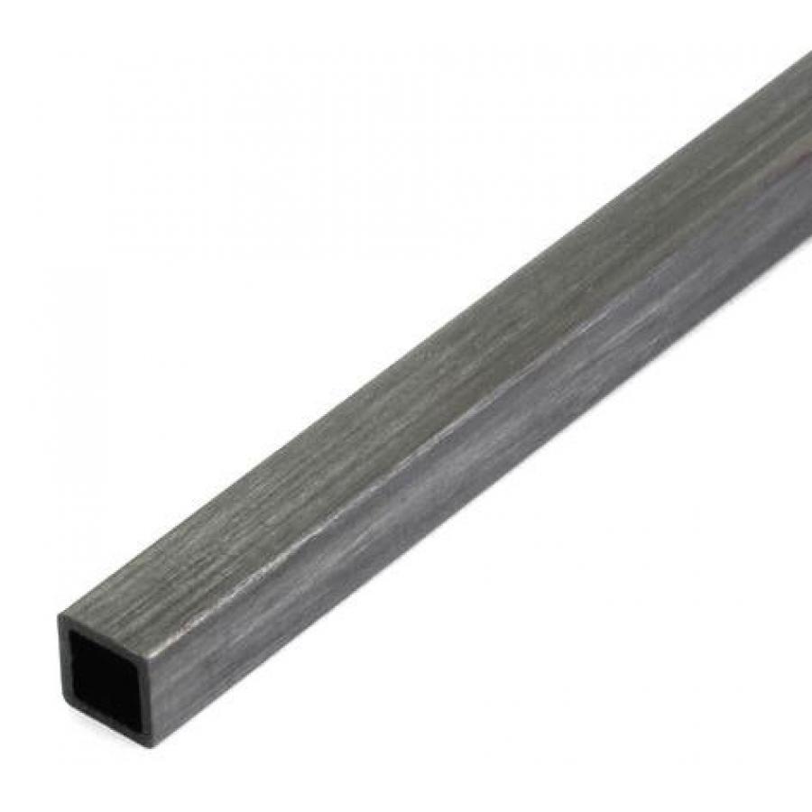 Kvadratinis anglies vamzdelis 6x5x1000 mm