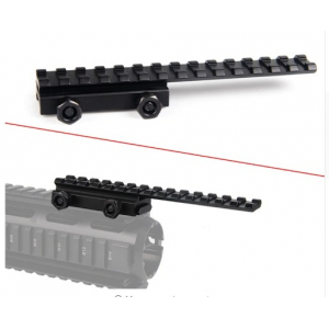 Tactical 20mm Picatinny Weaver Rail Scope Extension QD Long Riser Mounts Base Adapter Converter For Hunting Airsoft RL1-0035