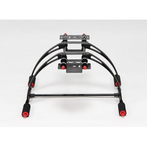 Deluxe Multifunction Anti-Brake Care-Free High Crab FPV Landing Gear Set (Black)