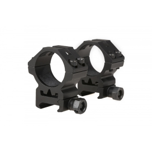 Two-part 30mm optics mount for RIS rail (low)