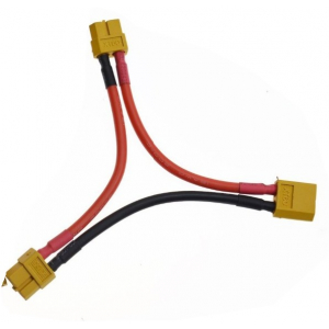 xt60 perėjimas sujungti du įrenginius iš vieno akumuliatoriaus