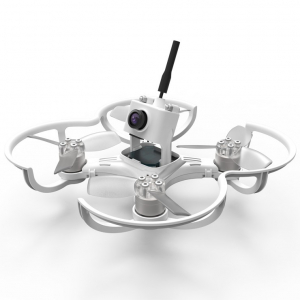 EMAX Babyhawk Micro Brushless FPV Drone Racer (BNF) – White