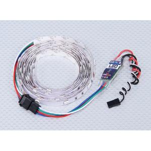 Daugiaspalvė/Daugiafunkcinė LED juostelė su valdymo pulteliu